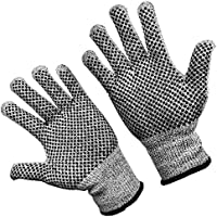 TARORO m 防刃手袋 軍手 滑り止め 手袋 作業用手袋 切傷防止 耐切創 ノンスリップ 切れない手袋
