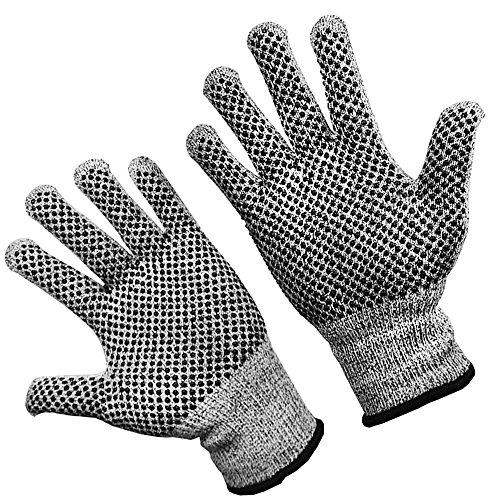 TARORO s 防刃手袋 軍手 滑り止め 手袋 作業用手袋 切傷防止 耐切創 ノンスリップ 切れない手袋