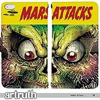 80's Space Universe & STAR WARS 手帳型 iPhoneXR (iPhone XR)(G006703_04) 専用 映画 Mars attack マーズ・アタックpop art センス 個性的 スマホケース