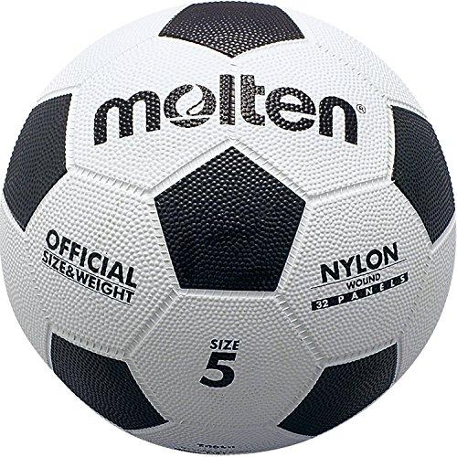 モルテン 亀甲ゴムサッカーボール 5号球 F5W