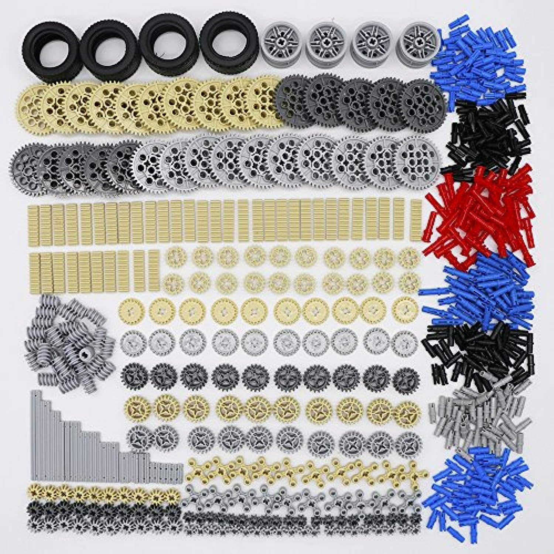 LEGO レゴ テクニック 互換 ギア パーツ 大量詰め合わせ 約650個セット