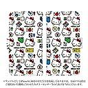 arrows NX F-02H 手帳型 ケース デザイン:14.おもちゃパターン/マグネットハンドあり ハローキティ Hello Kitty アロウズ スマホ カバー