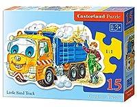 Castorland Little Sand Truck Puzzle (15 Piece) [並行輸入品]