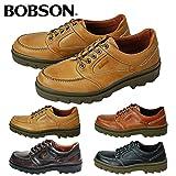 【ボブソン】BOBSON 紳士靴 4327 ウォーキングシューズキャメル25.5cm