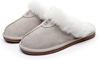 UGG 1978AUS Best Gift Choice Slippers- Australian Shepherd Unisex Scuff/Slippers, Genuine Sheepskin Lining, Amazing...