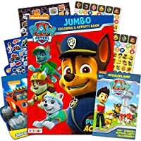 PAW Patrol Colouring Book and Stickers - 295 Stickers