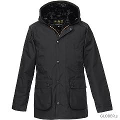 Hooded Bedale SL MCA0387: Black
