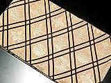 リサイクル袋帯/正絹薄茶地袋帯(ふくろおび 丸帯【中古】)【ランクA】