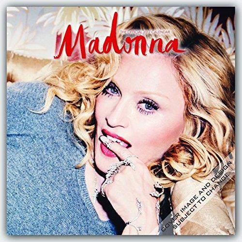 Madonna 2017 Calendar (Square Wall)