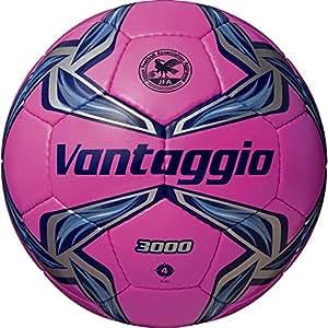 サッカーボール ヴァンタッジオ3000  4号 ピンク×ネイビー