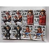 ワンピース フィギュア KING OF ARTIST モンキー・D・ルフィ サンジ ポートガス・D・エース 4種 8個セット