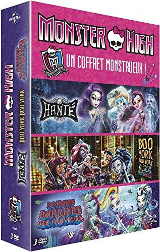 Monster High - Coffret: Boo York + Hanté + La grande barrière des frayeurs