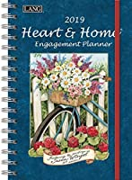 The LANG Companies Heart & Home 2019 Engagement Planner - Spiral (19991011085) [並行輸入品]