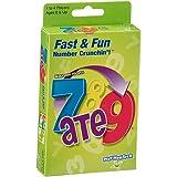 PlayMonster 7 ATE 9 - Fast & Fun Card Game , Green