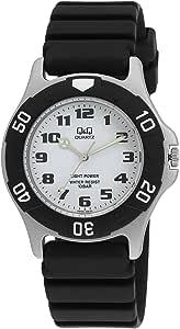 [シチズン キューアンドキュー]CITIZEN Q&Q 腕時計 SOLARMATE (ソーラーメイト) ソーラー電源 アナログ表示 10気圧防水 ホワイト H950J003 メンズ