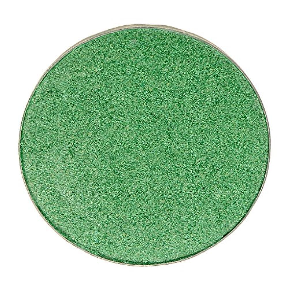 パラメータシソーラス彼の化粧品用 アイシャドウ ハイライター パレット マット シマー アイシャドーメイク 結婚式 パーティー 全5色 - #38グリーン
