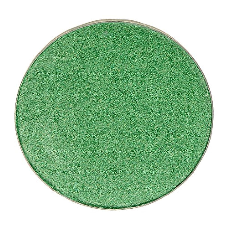 足音にじみ出る六化粧品用 アイシャドウ ハイライター パレット マット シマー アイシャドーメイク 結婚式 パーティー 全5色 - #38グリーン