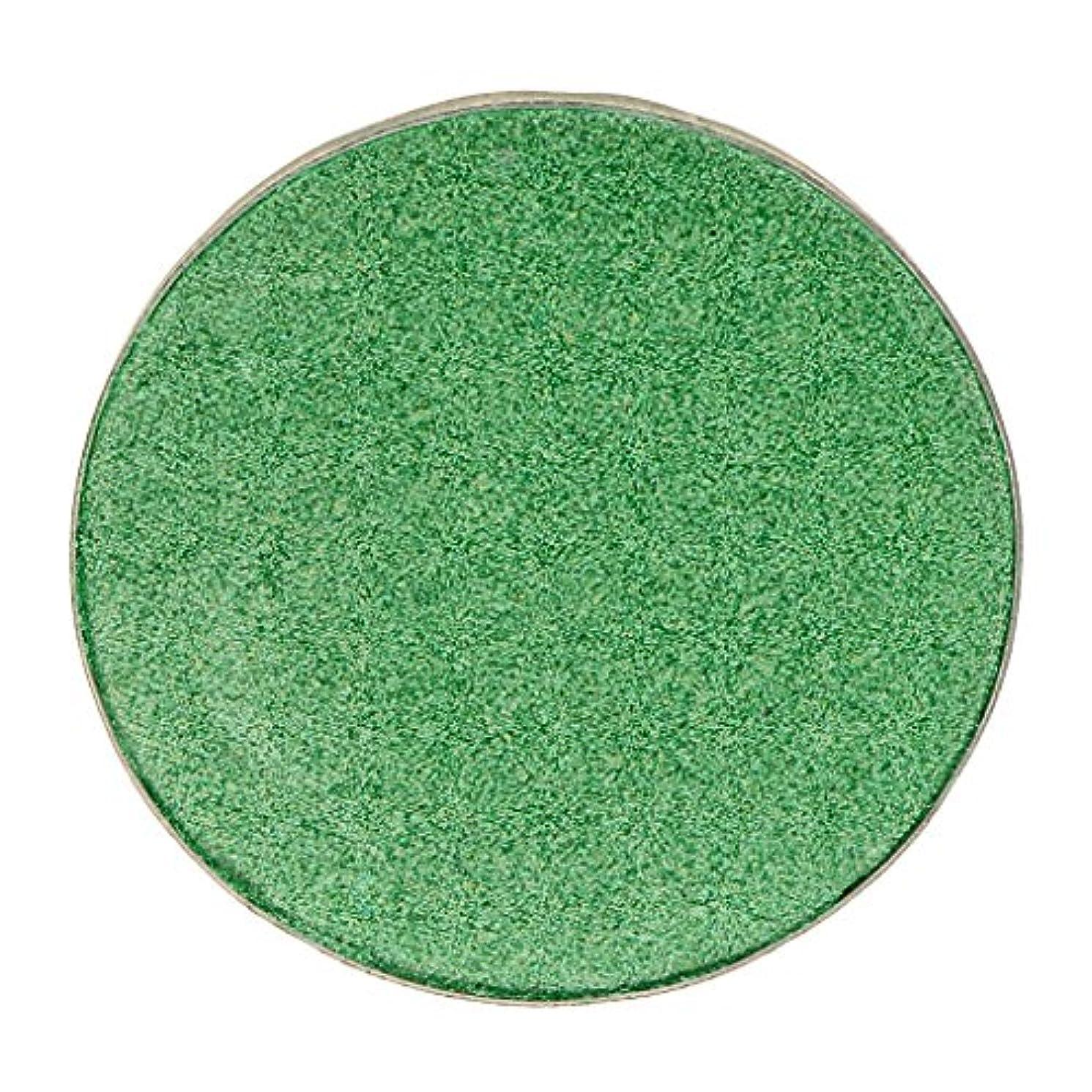 アーク分割記述する化粧品用 アイシャドウ ハイライター パレット マット シマー アイシャドーメイク 結婚式 パーティー 全5色 - #38グリーン