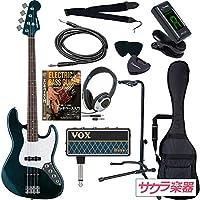 SELDER セルダー ベース ジャズベースタイプ JB-30/葵ローズウッド指板 VOX amPlug2【アンプラグ2 AP-BS(BASS)】サクラ楽器オリジナルセット