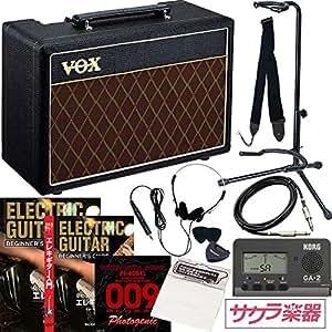 エレキギター初心者入門 サクラ楽器オリジナル 小物詰め合わせ スターターパック【アンプ:VOX PATHFINDER 10】