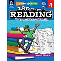 180 Days of Reading for Fourth Grade (Practice, Assess, Diagnose: 180 Days of Math)