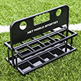 Foldable Drinks Bottle Carrier | Soccer Water Bottle Carrier with Standard Water Bottles | 10 Hygiene Bottles with A Carrier [Net World Sports]