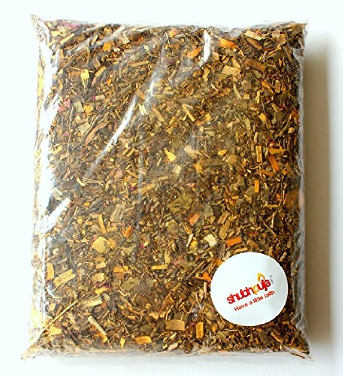 サイクルうんざりまどろみのある250 g – Havan Samagri Herbs供養プレートRitual (供養用途のみ)