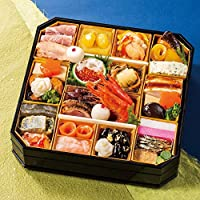 富山 五万石千里山荘 おせち料理 2019 8.5寸 一段重 32品 盛り付け済み 冷蔵おせち 2人前~3人前 お届け日:12月31日
