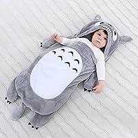 (ディゾン)dizoon ベビー スリーパー 寝袋 おくるみ 暖かい 柔らかい 子供用 赤ちゃん フランネル 春秋冬用 新生児 0-2歳 7デザイン かわいい カートゥーン