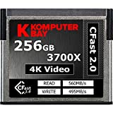 Komputerbay Professional 3700 x 256GB CFast 2.0 Card (Up to 560MB/s Read and up to 495 MB/s Write) [並行輸入品]