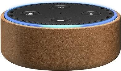 Amazon Echo Dot用レザーケース サドルタン