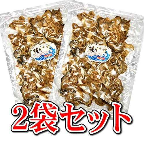 焼 帆立(貝ひも)2パックセット (1パック80g入り) 【珍味】お酒によく合います。【常温便】