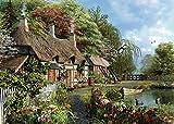 300ピース ジグソーパズル Cottage on a Lake (70 x 50 cm)