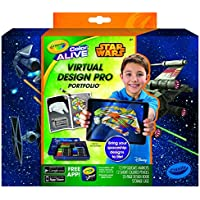 Crayola Color Alive Star Wars Virtual Design Pro Portfolio [並行輸入品]