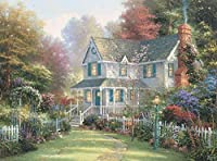 Ceaco Thomas Kinkade - Victorian Garden II 1000Piece Puzzle [並行輸入品]