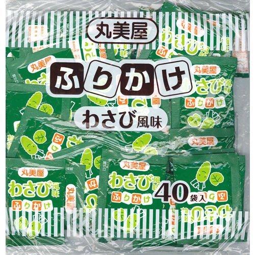 丸美屋 特ふり わさび風味 100g 2.5g×40袋