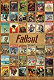 "Fallout 4 ""Vault Tec - Magazine Compilation"" Poster Magazine Compilation (61cm x 91,5cm)"