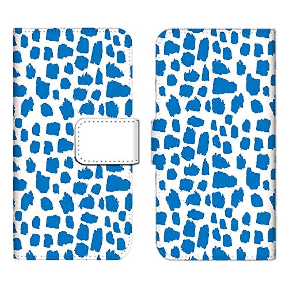 算術柔和子犬Xperia X Compact SO-02J ケース 手帳型 スマホケース カードケース 収納ポケット カードポケット エクスペリア カバー/北欧/キリン柄
