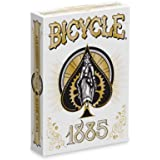 Bicycle Playing Cards - 1885 Deck, White
