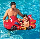 【Disney Cars 】カーズ マックィーン プールクルーザー(109×66cm) 浮き輪 男の子 うきわ ウキワ フロート ボート プール遊び