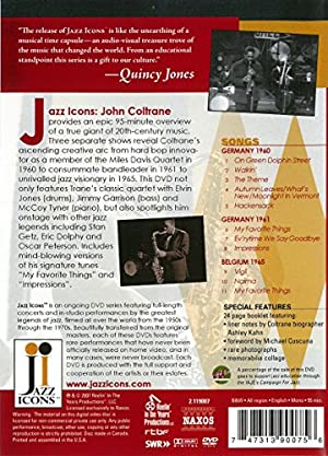 Jazz Icons: John Coltrane Live in 60 61 & 65 [DVD] [Import]