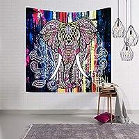 インドアイドルインドボヘミアンタペストリー、カラフルな壁掛けの寝室、ドミトリー、リビングルームの装飾 E-87 (D)