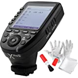 Godox Xpro-S for Sony TTL Wireless Flash Trigger 1/8000s HSS TTL-Convert-Manual Function Large Screen Slanted Design 5 Dedica