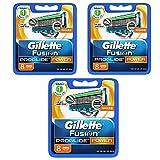 Gillette ジレットフュージョンプログライドパワー 替刃24個カミソリ 男性用 [並行輸入品]
