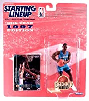 ANTHONY MASON / CHARLOTTE HORNETS * 1997 EXTENDED SERIES * NBA Starting Lineup Action Figure & Exclusive NBA Collector