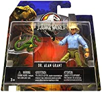 Dr. Alan Grant & Compie Jurassic World Legacy Collection Posable Figure 3.75 2018 【You&Me】 [並行輸入品]