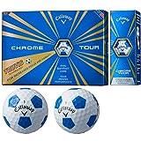 キャロウェイゴルフ CHROME TOUR ボール クロムツアーTRUVIS ボール 5ダースセット 5ダース(60個入り) ホワイト/ブルー