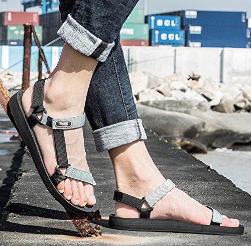 [해외](쁘띠 프라임) Petit Prime 스포츠 샌들 벨크로 남성 여성 야외 슬림 크로스 벨트 조정 가능한 방수 비치 샌들 워터 슈즈/(Petit Prime) Petit Prime Sports Sandals Velcro Mens Women`s Outdoor Slim Cross Belt Adjustable Waterproof Beach Sand...