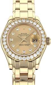 ロレックス ROLEX デイトジャスト パールマスター 69298G 中古 腕時計 レディース (W183222) [並行輸入品]
