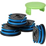 Generep Weed Eater String Trimmer Replacement Spool for Greenworks .29242/29082 27ft 065-Inch Dual Line,Compatible with Green